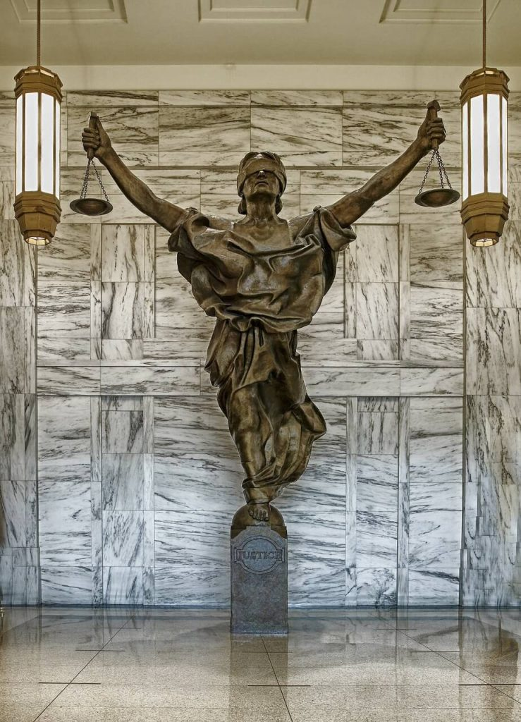 figure of justice law